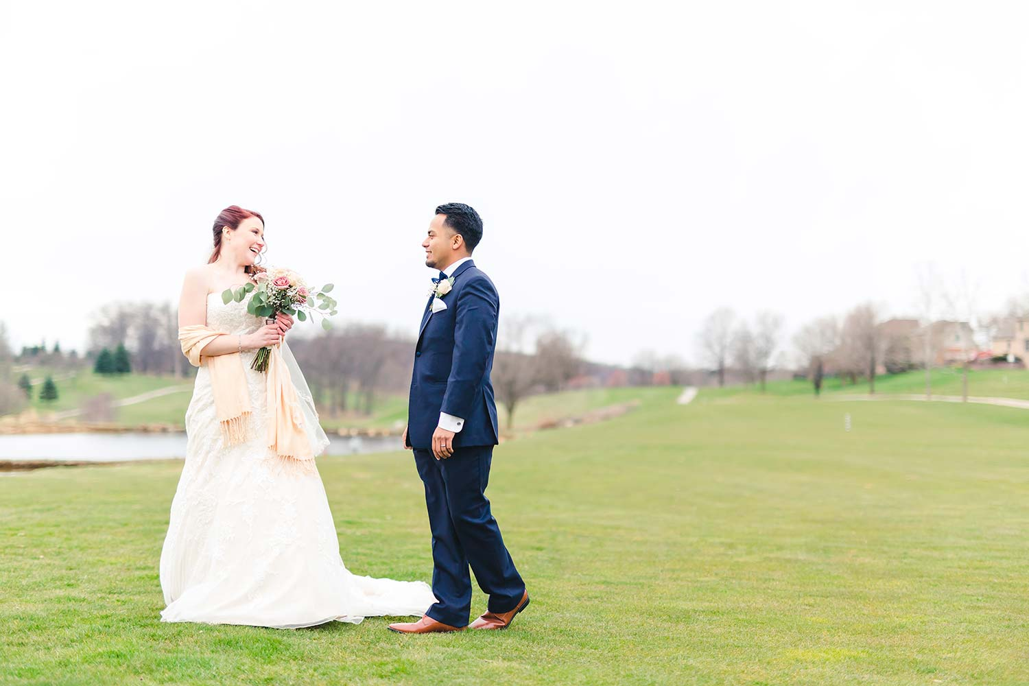 Golf Course Wedding Photos