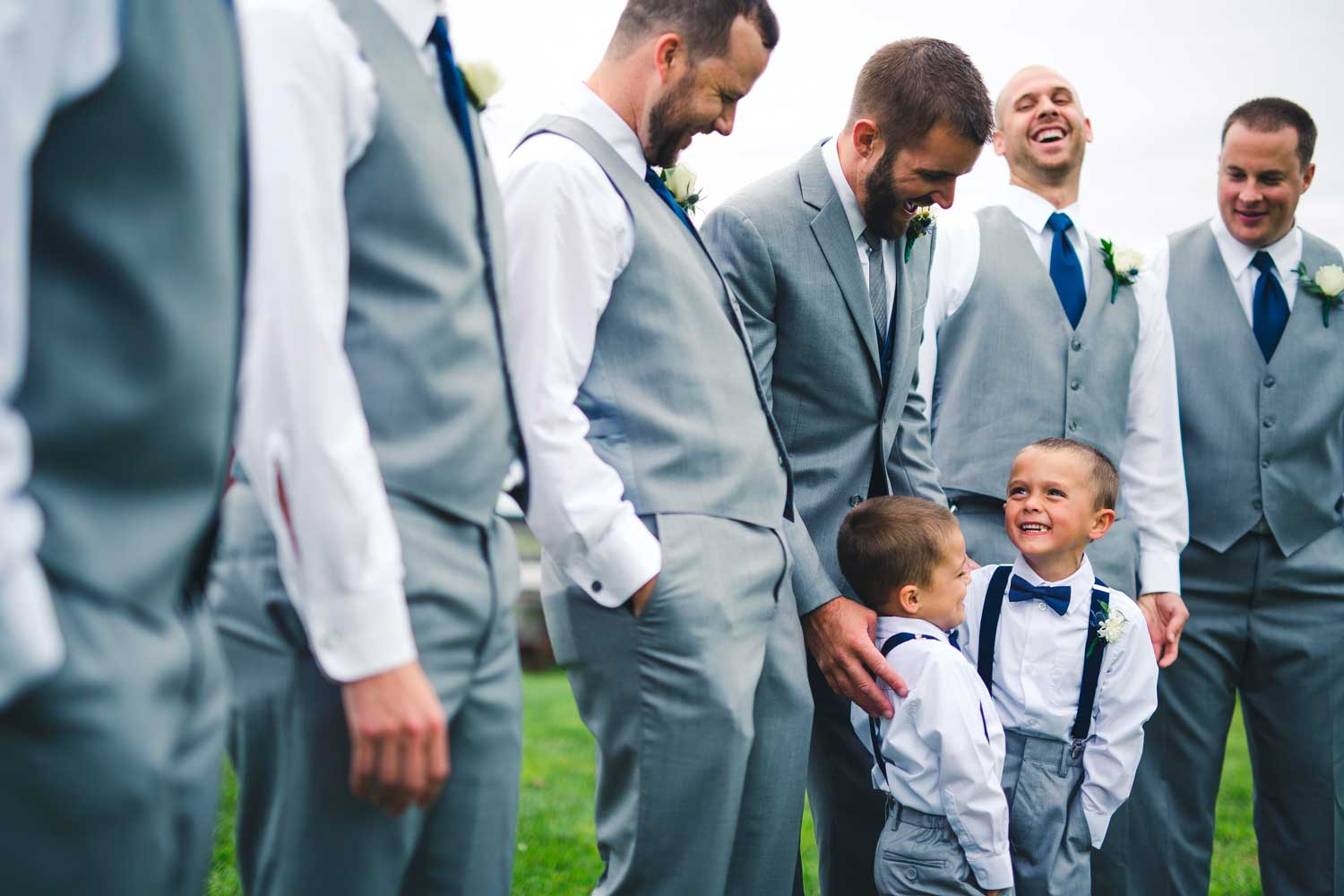 Wedding Group Photo with Kids