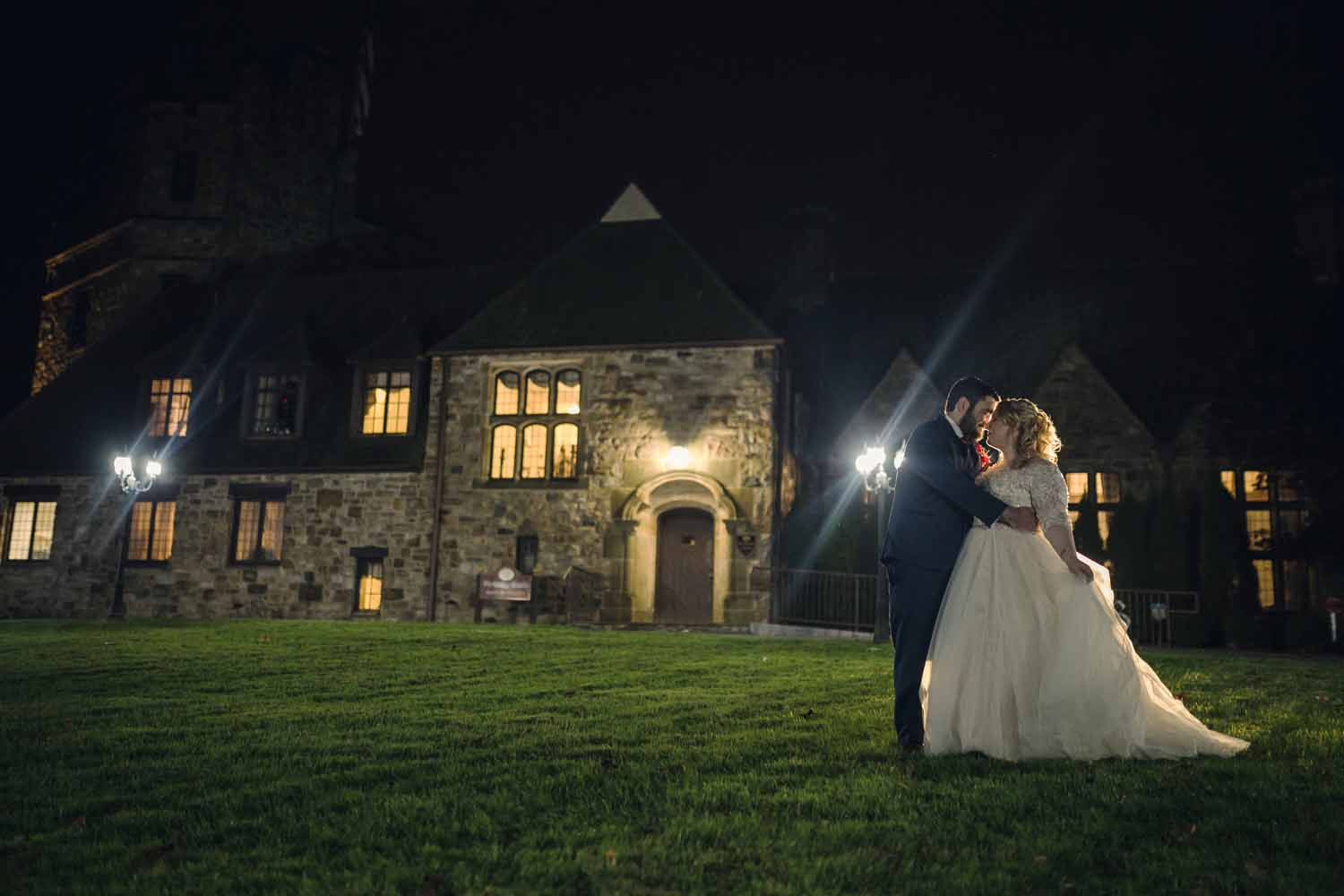 Dancing under the stars at Stokesay Castle
