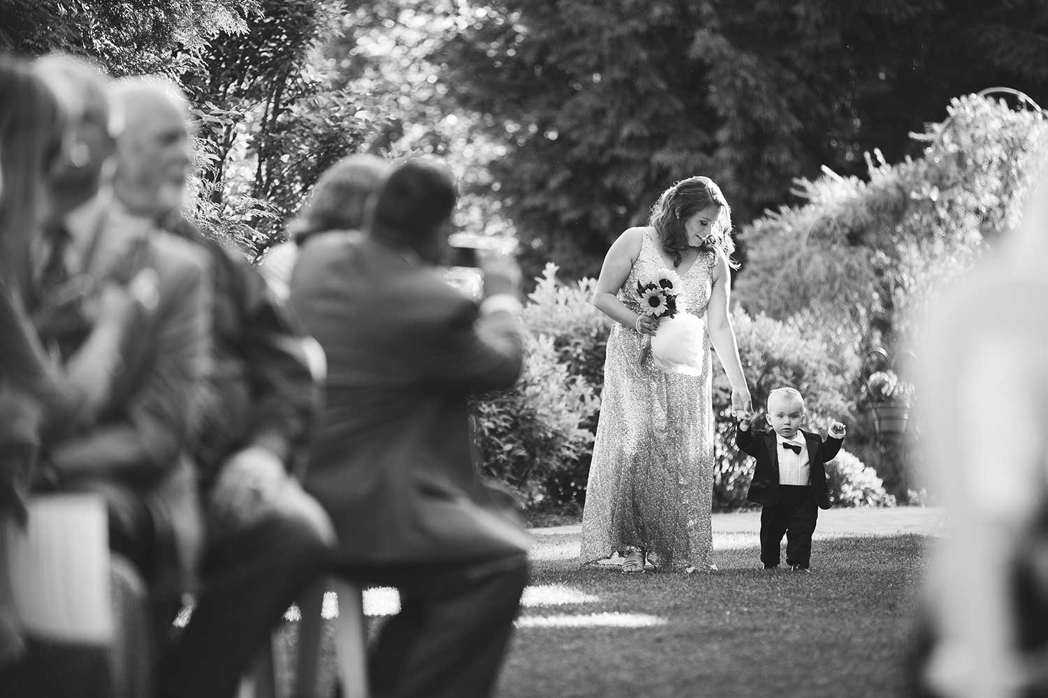 Wedding ceremony at Manor House at Commonwealth