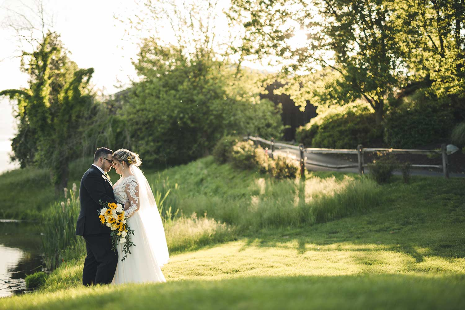 Manor House at Commonwealth Wedding Couples Portraits