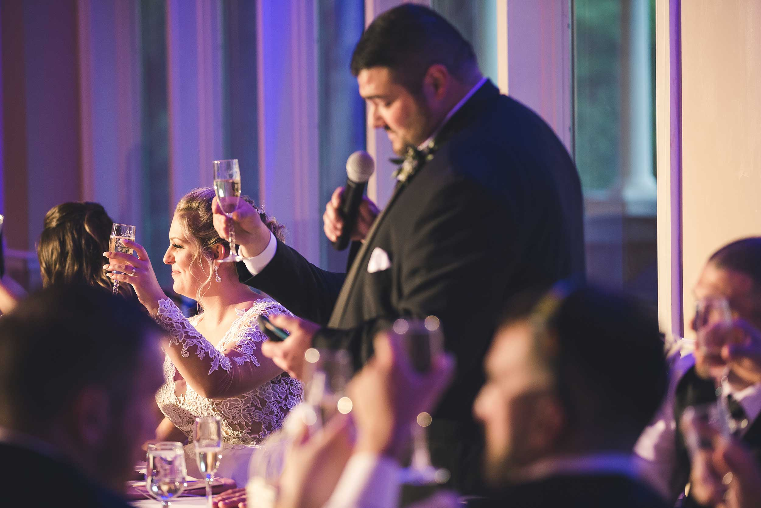 Best man speech at Manor House at Commonwealth