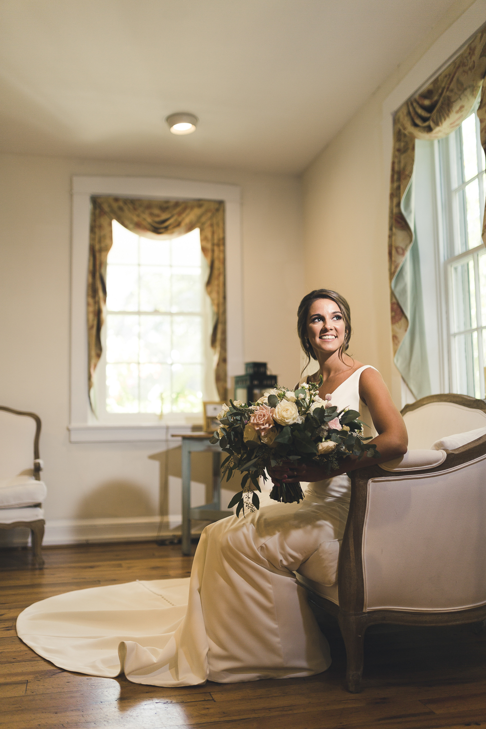 Bridal Portrait at Riverdale Manor