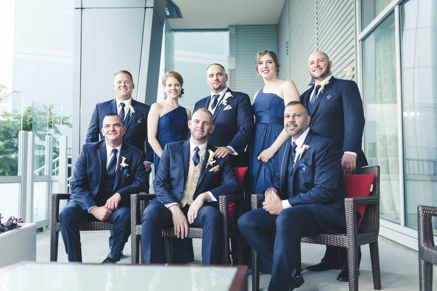 Group Photo - Philly Wedding