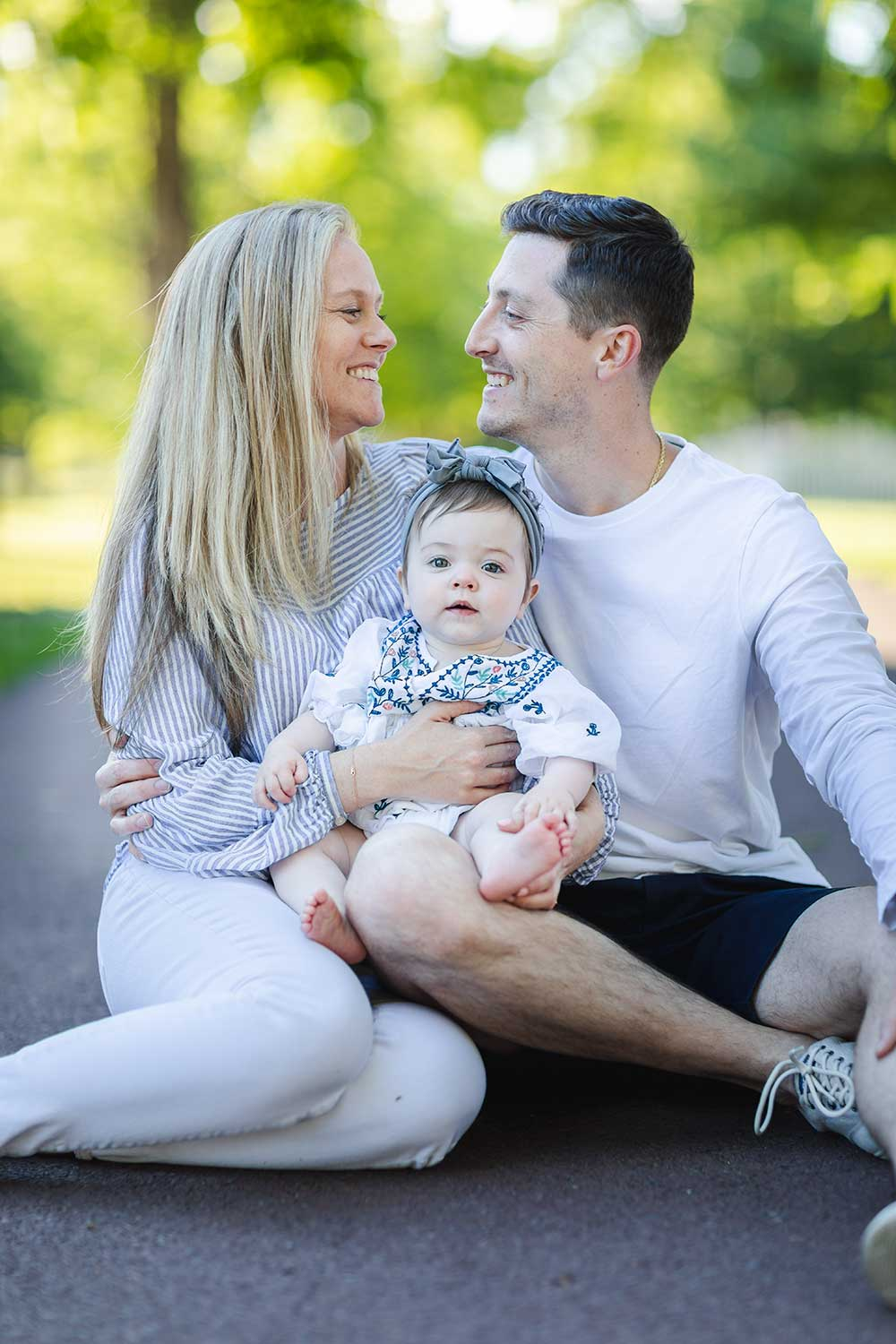 Bucks County Family Photos - Family with infant