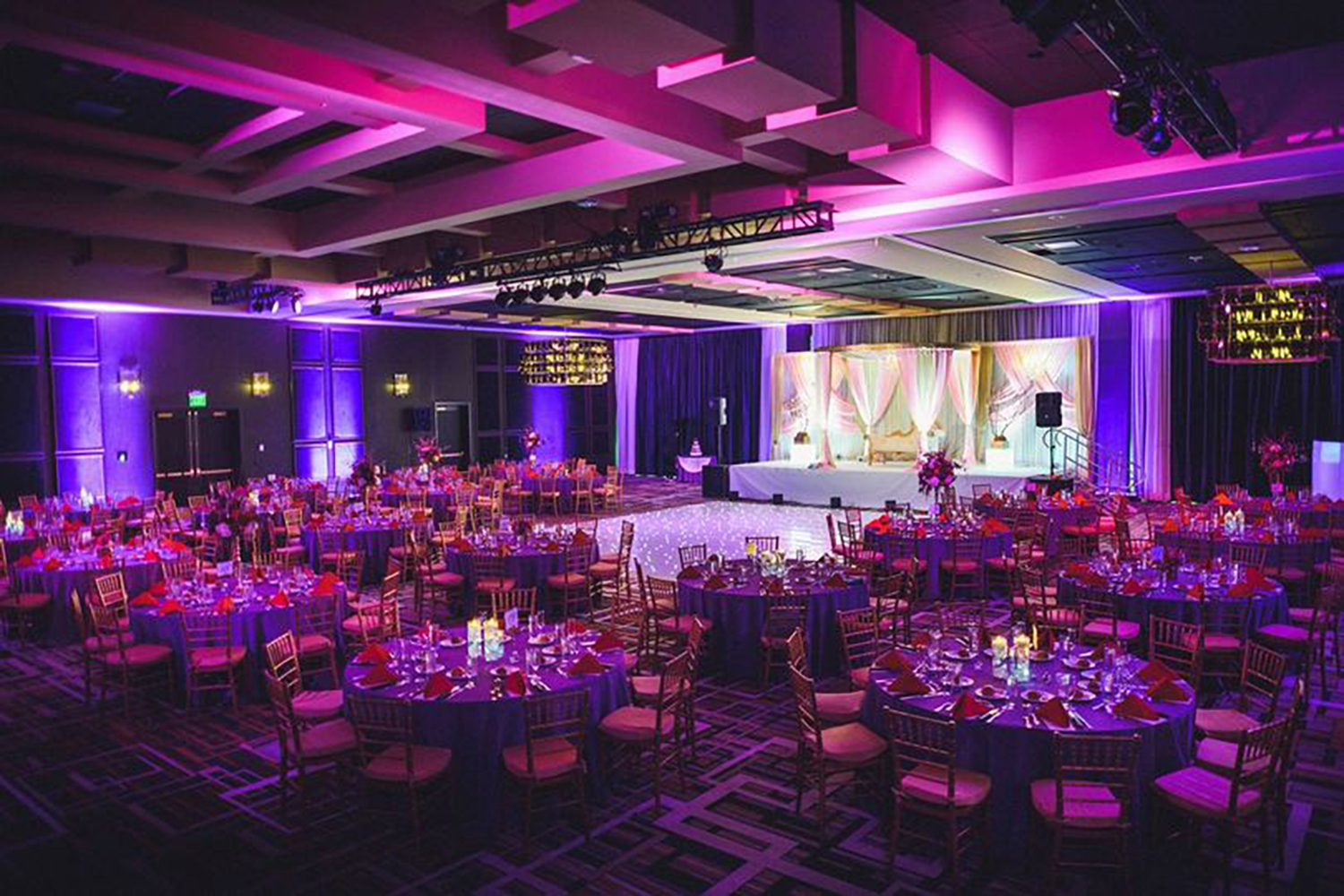 Rivers Casino wedding ballroom located in Philadelphia
