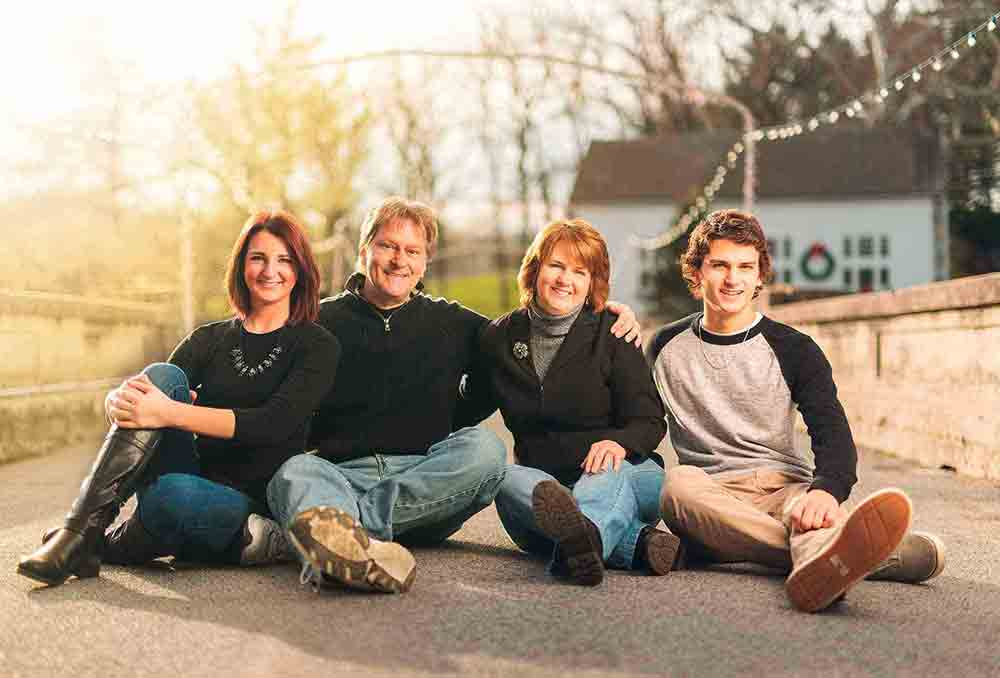 Familiy portrait photography portfolio